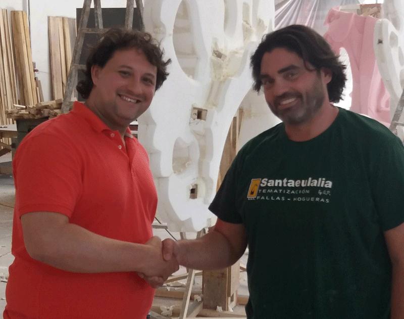 Santaeulalia y Xavier Ureña plantarán en Collado 2020