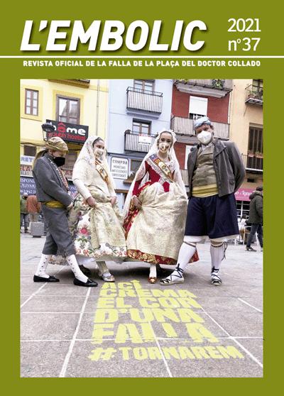 COLLADO presentarà la seua revista L'Embolic 2021
